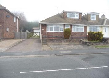 Thumbnail 3 bed semi-detached bungalow to rent in St. Bernards Road, Whitwick, Coalville