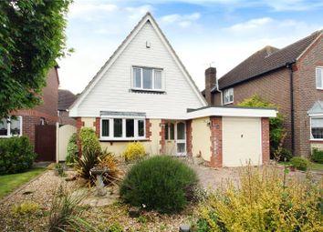 Thumbnail 3 bed detached house for sale in Montgomeri Drive, Rustington, Littlehampton