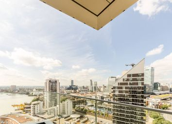 Thumbnail 1 bed flat to rent in Charrington Tower, Canary Wharf