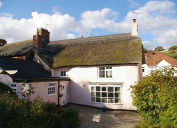 Thumbnail 3 bed end terrace house for sale in Otterton, Budleigh Salterton, Devon