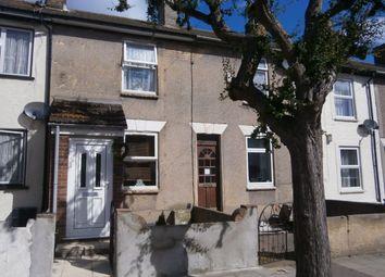 Thumbnail 2 bed terraced house for sale in Trafalgar Street, Gillingham