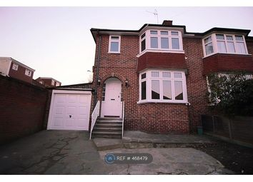 Thumbnail 3 bed semi-detached house to rent in Highcroft, London