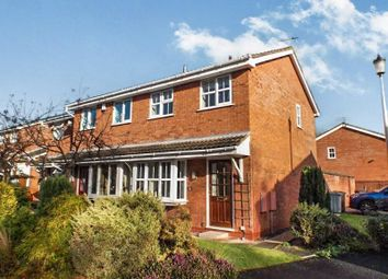 Thumbnail 2 bed semi-detached house to rent in Bessancourt, Holmes Chapel, Crewe