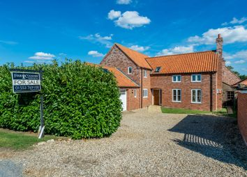 Thumbnail 4 bed detached house for sale in Bilney Road, Gressenhall, Dereham, Norfolk