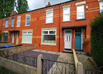Thumbnail 3 bed terraced house for sale in Albert Road, Heaton Moor