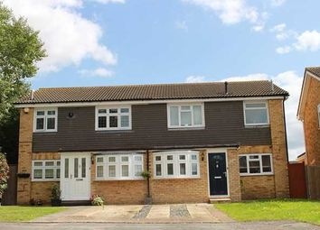 Thumbnail 3 bed semi-detached house to rent in Chevington Way, Hornchurch