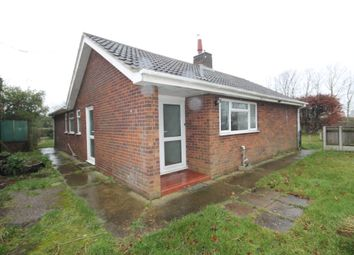 Thumbnail 3 bed detached bungalow to rent in Butt Lane, Burgh Castle, Great Yarmouth