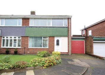Thumbnail 3 bed semi-detached house for sale in Cotter Riggs Place, Chapel House Estate, Newcastle Upon Tyne