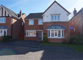 Thumbnail 4 bed detached house for sale in Parklands, Romiley, Stockport