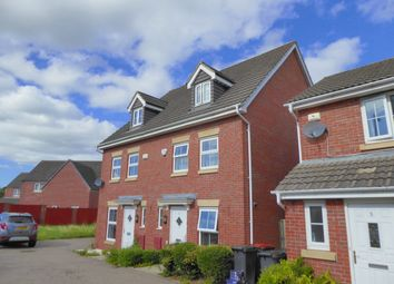 Thumbnail 3 bed semi-detached house to rent in Brigantine Drive, St. Brides Wentlooge, Newport