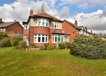 Thumbnail 3 bedroom detached house for sale in Lidgett Park Grove, Roundhay, Leeds