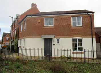 Thumbnail 3 bed detached house for sale in Clover Way, Syston, Leicester