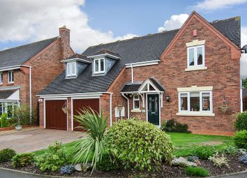 Thumbnail 4 bed detached house for sale in Edwards Farm Road, Fradley, Lichfield
