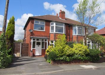 Thumbnail 3 bed semi-detached house to rent in Clive Avenue, Whitefield, Manchester