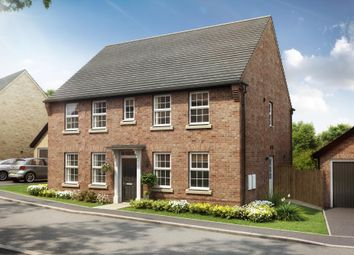 "Thumbnail 4 bedroom detached house for sale in ""Chelworth"" at Stoke Road, Poringland, Norwich"