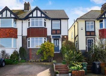 Thumbnail 4 bed semi-detached house for sale in Reading Road, Brighton