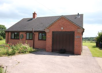 Thumbnail 2 bed detached bungalow to rent in Bank Top, Common Lane, Gratwich
