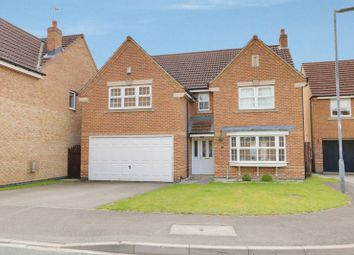 Thumbnail 4 bed detached house for sale in Thornton Close, Market Weighton, York