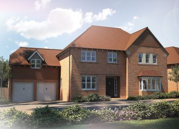 "Thumbnail 5 bed detached house for sale in ""The Highclere"" at Tile Barn Row, Woolton Hill, Newbury"