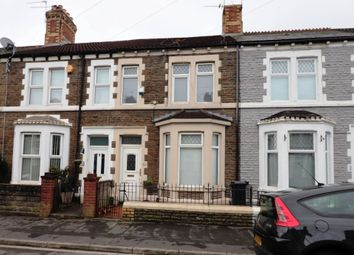 Thumbnail 2 bed terraced house for sale in Cameron Street, Splott, Cardiff