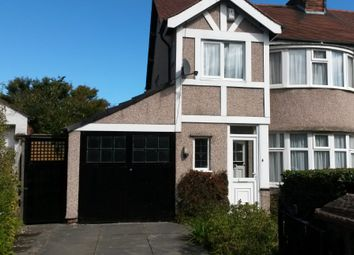 Thumbnail 3 bed semi-detached house for sale in Irby Road, Wirral