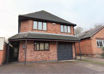 Thumbnail 4 bed detached house for sale in Ashleigh Drive, Loughborough