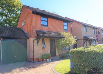 Thumbnail 3 bed link-detached house for sale in Merrivale Gardens, Woking