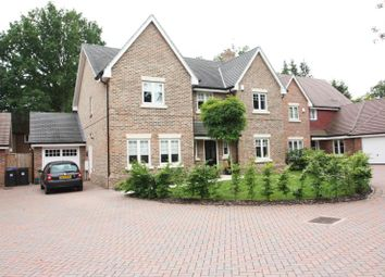 Thumbnail 5 bed detached house to rent in Pinehurst Gdns, West Byfleet