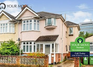 Thumbnail 6 bed semi-detached house to rent in Merton Road, Southampton