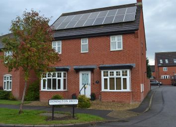 Thumbnail 3 bed detached house for sale in Donington Drive, Woodville, Swadlincote