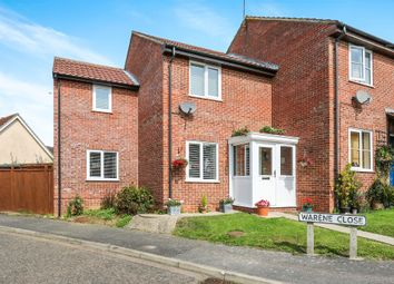 Thumbnail 3 bedroom end terrace house for sale in Warene Close, Framlingham, Woodbridge