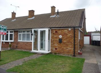Thumbnail 2 bed semi-detached bungalow to rent in Montfort Road, Walderslade, Chatham, Kent
