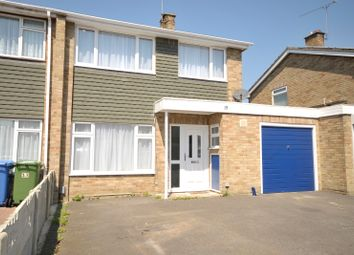 Thumbnail 3 bed semi-detached house to rent in Trent Close, Farnborough