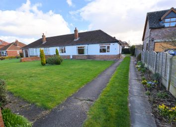 Thumbnail 3 bed semi-detached bungalow for sale in Moss Green Lane, Brayton, Selby