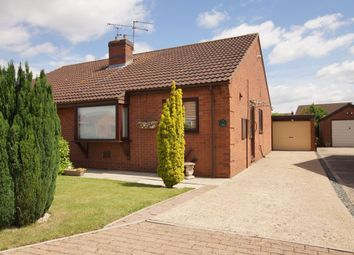 Thumbnail 2 bed bungalow for sale in Hall Rise, Messingham, Scunthorpe