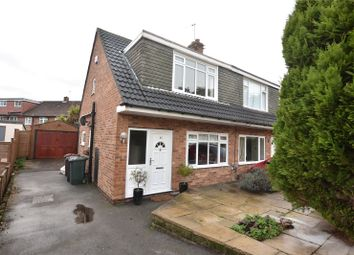 Thumbnail 2 bed semi-detached house for sale in Highwood Grove, Leeds, West Yorkshire