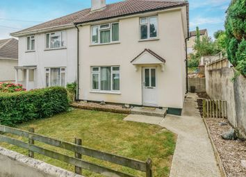 Thumbnail 3 bed semi-detached house for sale in Blandford Road, Plymouth
