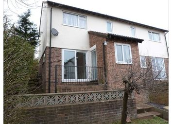 Thumbnail 2 bed semi-detached house to rent in Higher Exwick Hill, Exeter