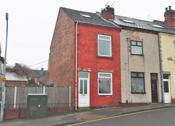 Thumbnail 3 bed end terrace house for sale in Middlecroft Road, Staveley, Chesterfield
