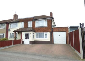 Thumbnail 4 bed end terrace house for sale in Maylands Avenue, Hornchurch