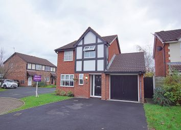 Thumbnail 3 bed detached house for sale in Leamington Close, Warrington