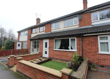 Thumbnail 3 bed town house for sale in Oak Crescent, Leicester