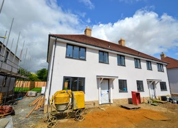 Thumbnail 3 bed semi-detached house for sale in Ashen Road, Ridgewell, Halstead