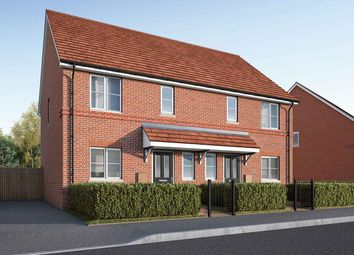 "Thumbnail 3 bed end terrace house for sale in ""The Eveleigh"" at Celsea Place, Cholsey, Wallingford"
