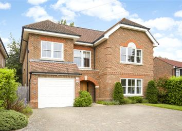 Thumbnail 5 bed detached house for sale in Heath Ridge Green, Cobham, Surrey
