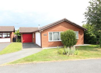 Thumbnail 3 bed detached bungalow for sale in Llanforda Mead, Oswestry