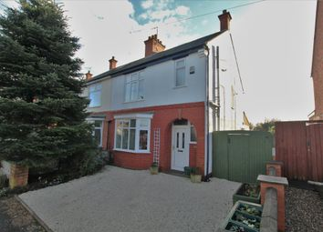 Thumbnail 3 bed semi-detached house for sale in Flamville Road, Burbage, Hinckley