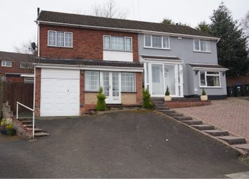 Thumbnail 3 bed semi-detached house for sale in Denton Grove, Great Barr, Birmingham