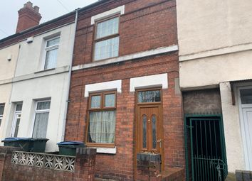 Thumbnail 3 bed terraced house for sale in Stoney Stanton Road, Coventry