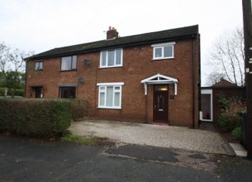 Thumbnail 3 bed property to rent in Ash Road, Sandiway, Northwich